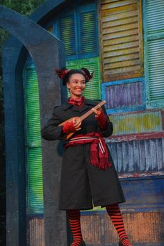 Tristan Cunningham at the The Comedy of Errors last dress rehearsal (6/24). Photo by Jay Yamada.