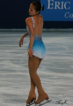 Caroline Zhang Figure Skating outfits   Figure Skating Costumes - Caroline Zhang's short program costume at ...
