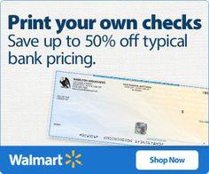 print your own checks