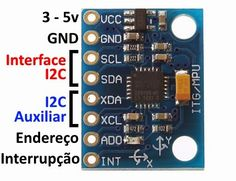Como Usar o acelerômetro e Giroscópio MPU6050