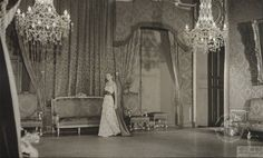 <p><strong>Prince's Palace of Monaco</strong></p><p>Before her wedding to Prince Rainier III in 1956, American actress Grace Kelly and her parents were invited to stay at the royal palace in Monaco. This beautiful shot, taken from the palace archives, shows the bride-to-be in the state appartments, while Rainier stayed at his villa in Cap-Ferrat ahead of the wedding.</p><p>© Photo : Fausto PICEDI - Archives du Palais Princier</p>