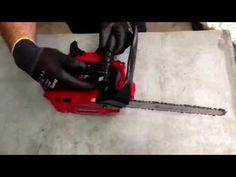 Cómo arrancar una motosierra en frío