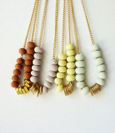 fimo clay and beads- zelf juwelen maken met kralen van fimo