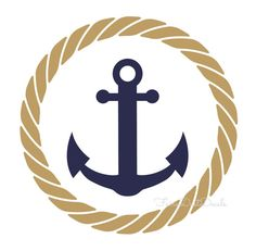 Here you find the best free Nautical Anchor With Rope Clipart collection. You can use these free Nautical Anchor With Rope Clipart for your websites, documents or presentations. Nautical Wall Decor, Nautical Party, Nautical Design, Nautical Anchor, Anchor Rope, Navy Anchor, Vintage Nautical, Vinyl Projects, Vinyl Designs