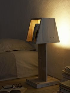 Bedhead Lamp - Table Lamps, Wood Lamps - iD Lights