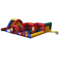 Airquee AQ558 CLC inflatable soft play creative learning centre with slide  Looking to add this for our Toddlers.