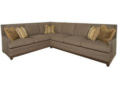 Shop for Vanguard Furniture 2 Piece Sectional, G60062, and other Living Room Sectionals at Kittle's Furniture in Indiana and Ohio.