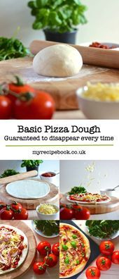 My perfect pizza dough recipe. Guaranteed to disappear from my family's plates...