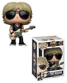 "Funko Pop Duff Mckagan Guns N Roses 3.75"" Vinyl Bobble Head Action Figure Toy #Funko #ebay #funkopop #collection"
