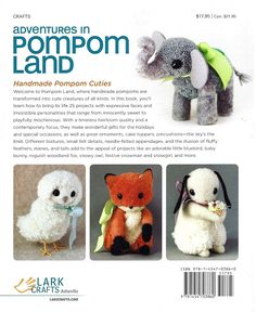 *Rook No. 17: recipes, crafts & whimsies for spreading joy*: How to Make Adorable Pompom Easter Chicks from Adventures in Pompom Land (DIY, Review & Giveaway)