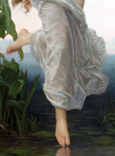 L'Aurore - William Adolphe Bouguereau: