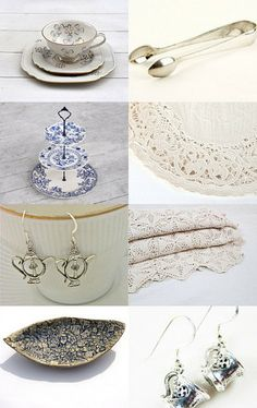 Tea Party by Laura Barker on Etsy