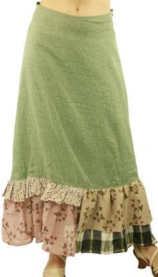 Long skirt Manet green Ian Mosh