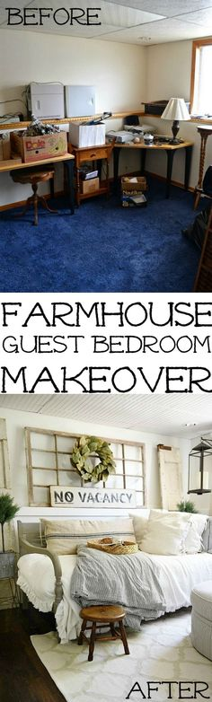 Farmhouse Guest Bedr