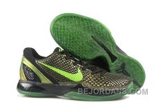 Where Can I purchase Kobe VI Supreme Rice Moss Green Green Apple Black  446442 301 Sneakers