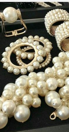 Chanel Pearl Jewelry  