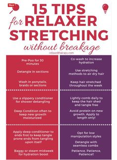 Stretching Relaxers