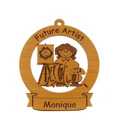 Future Artist Ornament Personalized with Your by gclasergraphics, $9.95