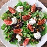 Salada com figos!