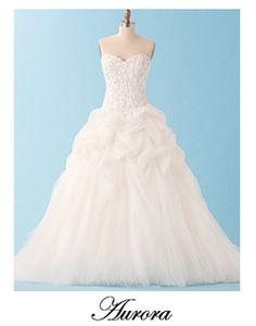 Disney Princess Inspired Wedding Gowns Aurora