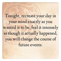 Recreate your day