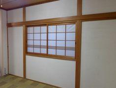 和室壁を「珪藻土」で塗り替え。(ビフォーはうぐいす色のじゅらく壁)