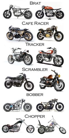 """motomood: """"You probably saw it, but it& worth repeating custom motorcycles . - cafe racer- motomood: """"You& probably seen it, but it& worth repeating custom motorcycles … – cafe racer – # looked - Motorcycle Types, Bobber Motorcycle, Moto Bike, Brat Bike, Tracker Motorcycle, Harley Bobber, Motorcycle Hair, Women Motorcycle, Motorcycle Garage"""