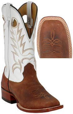 Square Toe Cowboy Boots, couldn't do the white though. Mode Country, Country Boots, Country Outfits, Country Girls, Cheap Western Boots, Crazy Shoes, Me Too Shoes, Westerns, Boot Scootin Boogie