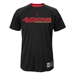 f5d77c8a1 NFL Youth Boys 820 San Francisco 49ERS COVERT SS TOP Black XL 18   Want  additional info  Click on the image.