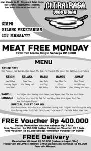 Meat Free Monday Citra Rasa Vegetarian Di Medan