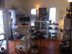Welcome! Heres a peek of our Brick & Mortar Cottage Style Soap Shop :) We make small batch  natural based cosmetics & delish handmade soaps.