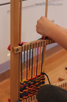 weave gifts for loved ones with this super cool kid-friendly loom . . . what would YOU make?