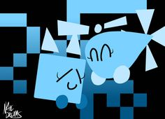 Best Friends Forever by on DeviantArt Need Friends, Best Friends Forever, Geometry Shape, Maker Game, My Favorite Part, Beats, Cube, Deviantart, Shapes