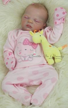Sold Out Limited Edition Elaine Realistic Baby Girl Reborn Sweetie Pie Nursery