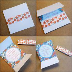 Convite para Padrinhos de Casamento DIY | http://blogdamariafernanda.com/convite-para-padrinhos-de-casamento-diy