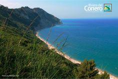 la bellissima spiaggia di Mezzavalle #aprile   #conero   Riviera del Conero Parco del Conero