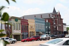 Downtown Columbus. Mississippi