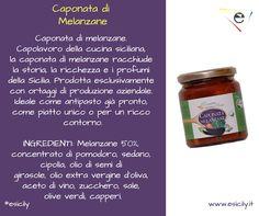 La regina della #cucina siciliana, la #caponata di melanzane! Disponibile al seguente link -->http://bit.ly/1McmEu4   Registrati gratuitamente su www.esicily.it e approfitta dello sconto!