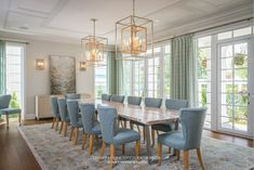 Custom House Design - Concept To Design Dining Rooms, Dining Chairs, Dining Table, New Construction, Home Values, Home Interior Design, Custom Homes, Design Projects, Outdoor Living