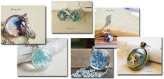 bijuterii albastre, acvatic si univers