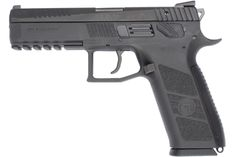 CZ P-09 – 9mm  $530.00  With an unsurpassed 19+1 rounds in its flush-fitting magazine, the P-09 is king of capacity