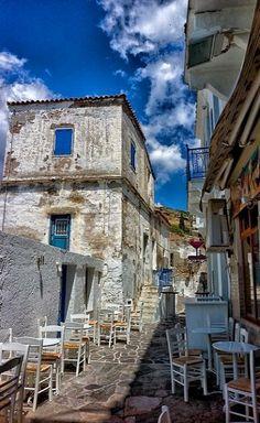 Batsi ~ Andros Island, Greece