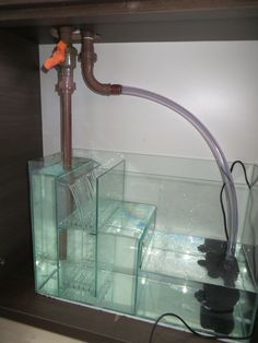 The Ultimate Reef Tank Plumbing for Ultra Clean Look Aquarium Chiller, Aquarium Sump, Aquarium Stand, Diy Aquarium, Aquarium Design, Aquarium Fish Tank, Saltwater Aquarium Setup, Tropical Fish Aquarium, Aquascaping