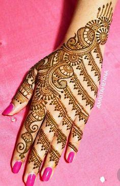Mehndi Design Offline is an app which will give you more than 300 mehndi designs. - Mehndi Designs and Styles - Hand Henna Designs Latest Henna Designs, Indian Henna Designs, Back Hand Mehndi Designs, Henna Designs Feet, Legs Mehndi Design, Bridal Henna Designs, Mehndi Design Pictures, Mehndi Images, Tattoo Designs