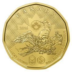 LUCKY LOONIE COIN PACK (2016) Just in time for the Olympics...read the history of the Canadian Lucky Loonie and how it became a charm for the ladies and men's Canadian Hockey teams winning gold's at the Olympics. .