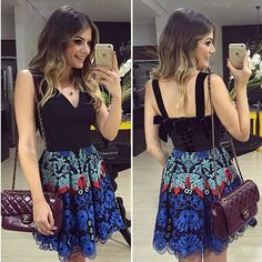 {Da noite} Vestido @mabumastore  Apaixonada nos lacinhos de veludo nas costas e na saia de renda❤️ • #lookdanoite #lookofthenight #ootn #selfie #blogtrendalert