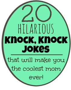 20 Funny (and printable) Knock, Knock Jokes for Kids