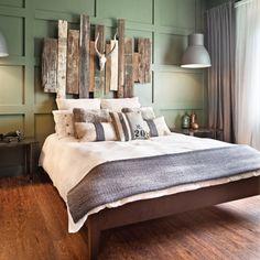 Ambiance sur mesure dans la chambre - Chambre - Avant après - Décoration et rénovation - Pratico Pratique