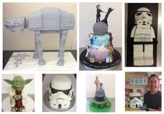 2014 Star Wars Cakes gave me the chance to make an all time favourite At-At Cake! :O) #yodaiam #TheForceAwakens