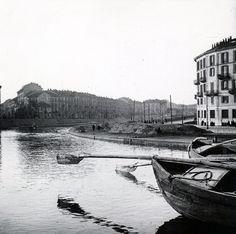 Arnaldo Chierichetti, La darsena di Porta Ticinese